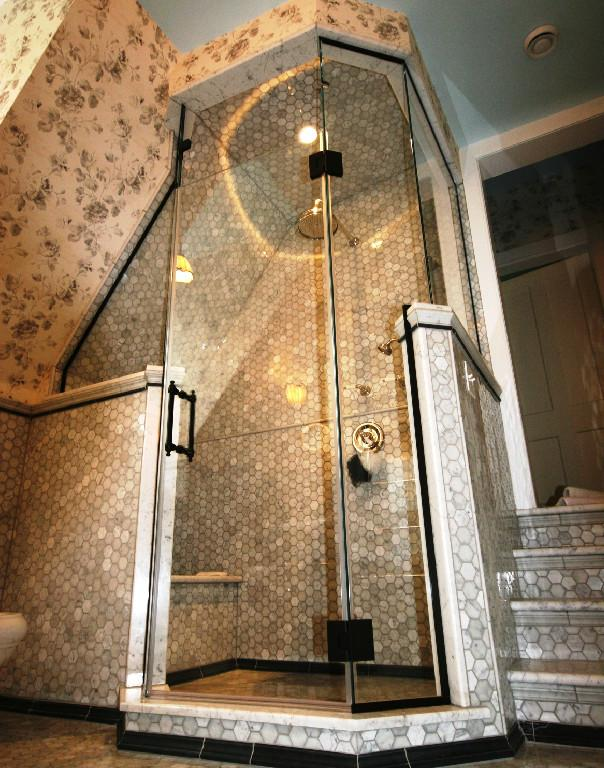 Shower Enclosures Sloping Ceilings