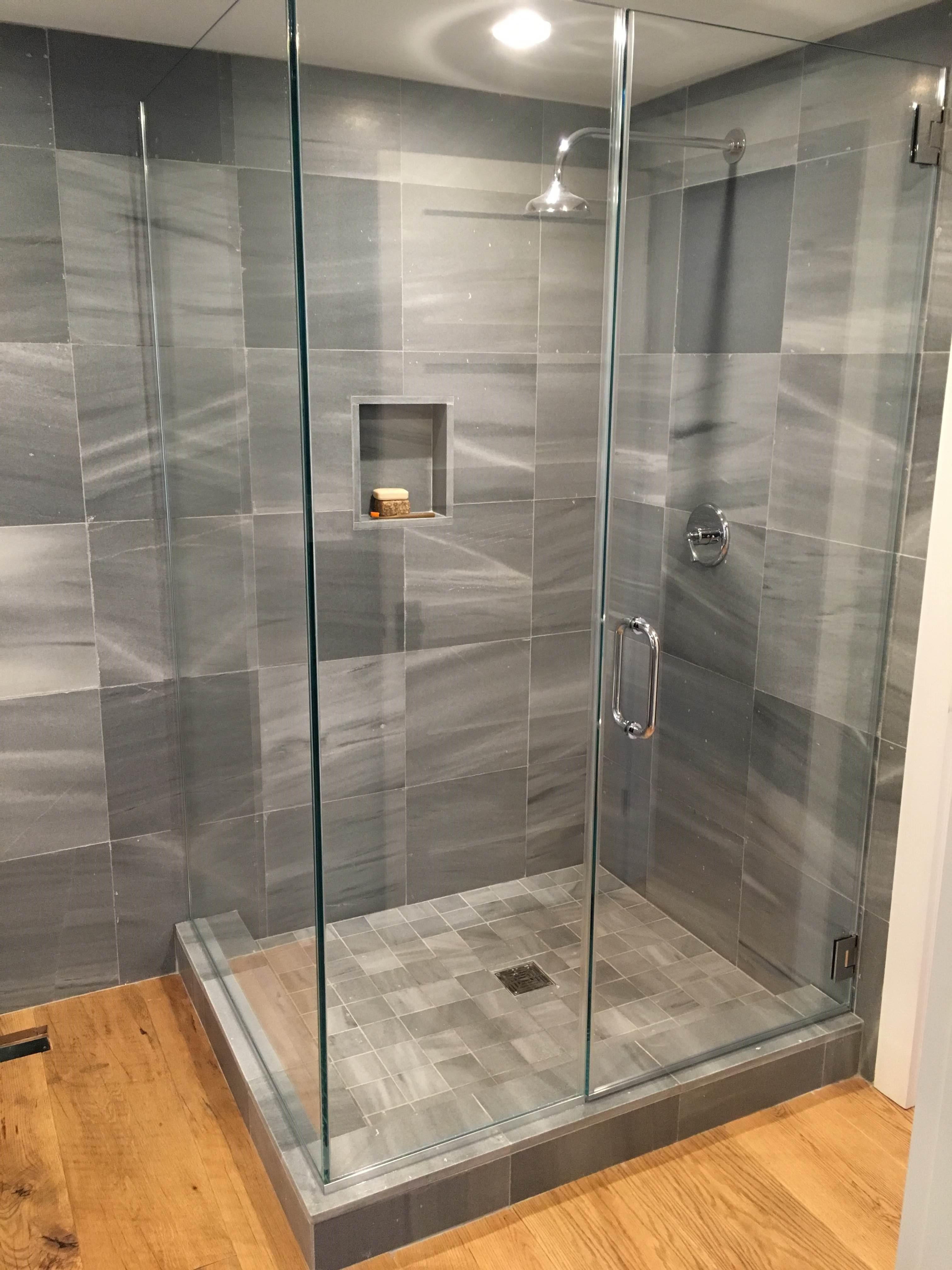 Custom Frameless Cold Spring Shower Doors